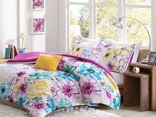 Pink Blue Skye Comforter Set Twin Twin Xl 4pc