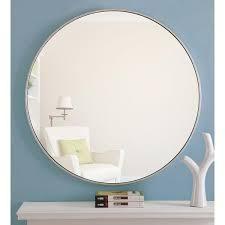 Carson Carrington labbemala Metal Frame Round Mirror  Retail 141 49