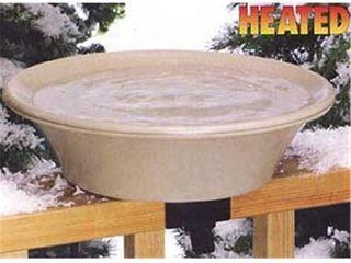 Heated Bird Bath with EZ Tilt Deck Mount and Pole  Retail 79 98