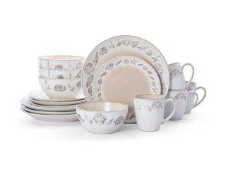 Pfaltzgraff Panama Beige 16 piece Dinnerware Set  Service for 4  Retail 83 99