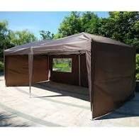 10 X20  POP UP Foldable Wedding Party Gazebo Canopy Tent W 4 Walls  Retail 156 99