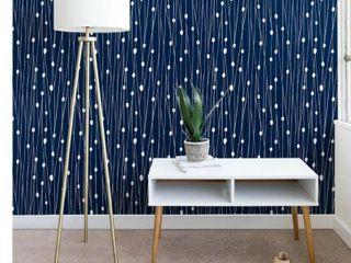 Heather Dutton Navy Entangled Wallpaper  Retail 91 49