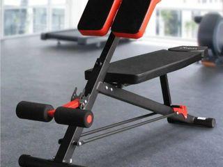Soozier Black and orange adjustable hyper extension