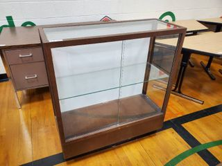 Display Cabinet with Glass doors and shelves