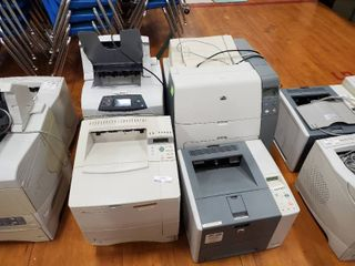 lot of 4 large Printers