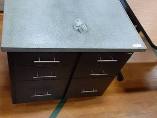 large Square Cabinet with 6 Drawers