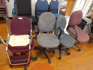 lot of office chairs
