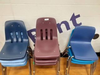 lot of kids chairs