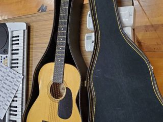 Artists limited Acoustic Guitar and Case Model RB601