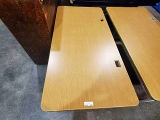 Rectangular Table with Metal legs