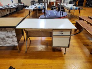 Metal Desk with Storage