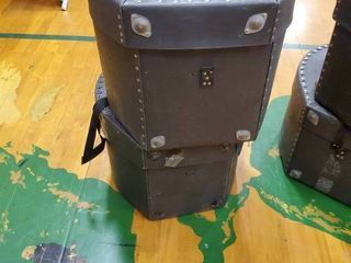 lot of 2 Yamaha Batter Drums with Cases