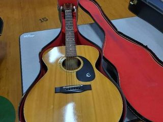 Music Center Acoustic Guitar with case