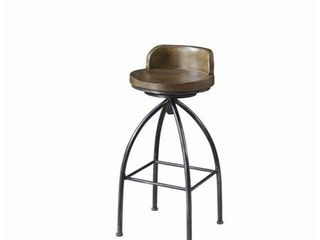 Bar Stool  Cognac and Black   Retail 124 00