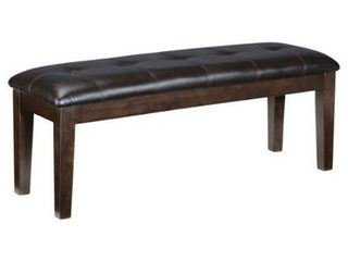 Haddigan Dark Brown Dining Bench  Retail 99 99