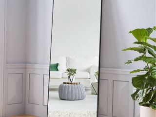 Modern Full length Floor Mirror Freestanding In living Sitting Room   64 17x21 26   Retail 146 99