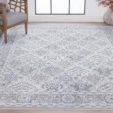 Alise Rugs linx Traditional Oriental Area Rug  Retail 149 99 grey