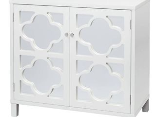 Broadway Cabinet with Mirror White   lifestorey