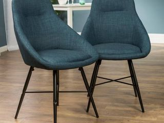 Walker Edison Urban Side Chair   Set of 2