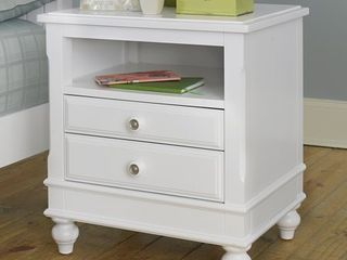 lake House White Wood Night Stand  Retail 399 00