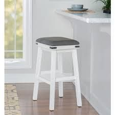 The Gray Barn Wild Hen White Bar Stool  Retail 107 49