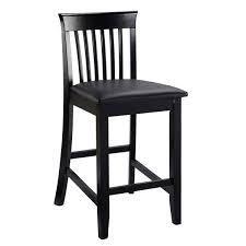 copper Grove floresti black slat back chair