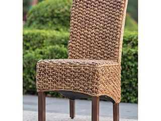 International Caravan Bunga Mahogany Dining Chair  Retail 142 99