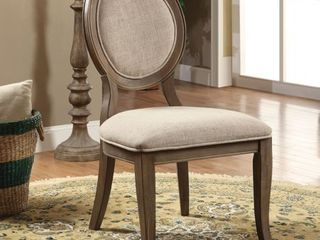 The Gray Barn louland Falls Traditional Dining Chairs  Set of 2  Retail 335 49