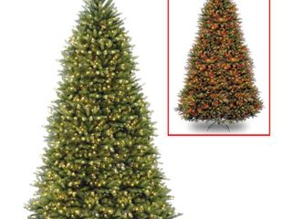 10ft  Dunhill Fir Tree with 1200 Dual Color lED lights  Retail 844 99