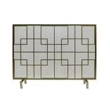 Alamance Modern Single Panel Fireplace screen by Christopher Knight Home Retail 107 99