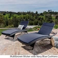 Vilano Outdoor Cushioned lounge Chairs  Set of 2  by Havenside Home  Retail 622 49