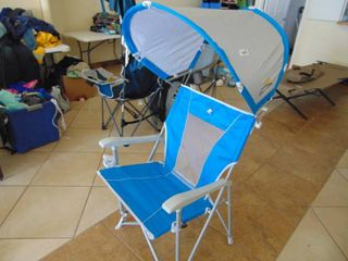 Collapsible Chair with Shade