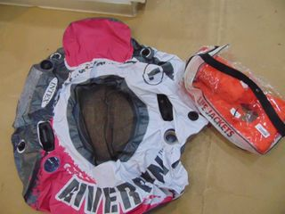 River Run Inflatable and life Jacket