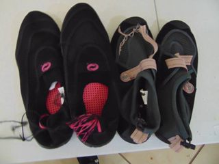 2 pairs of miscellaneous Water shoes   Womens size 10