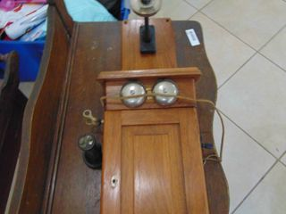 Western Electric 301A Wooden Phone