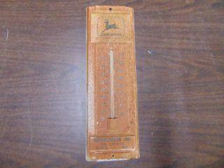John Deere Thermometer   Fairbury Nebrask