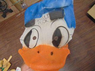 Donald Duck Puppet