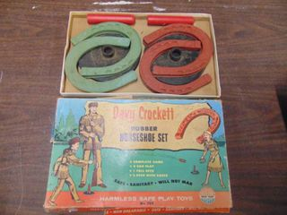 Davey Crocket Horse Shoe Set