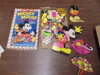 Mickey Mouse Sew ons Kit