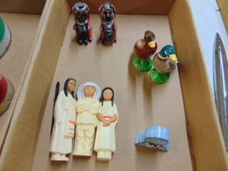 Cast Mormon s in Rocker s   Plastic Indian Figurine s and More