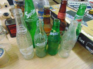 Vintage Beer and Pop Bottles