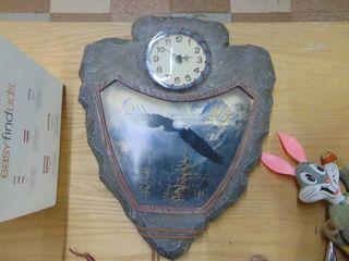 Eagle   Arrowhead Clock