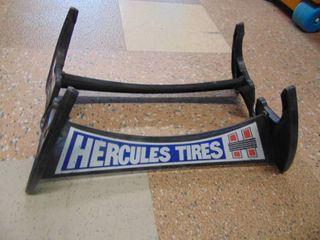 Hercules Tire Display Rack   Plastic