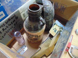 Bowtie Emblem   Vintage Tin pail and more