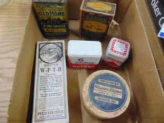 Miscellaneous Tins and Boxes