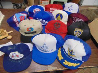 10  Vintage Ball Trucker Caps