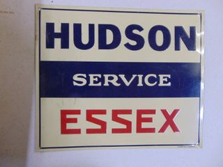Hudson   Essex Service Sign   Tin   Reproduction IJ