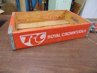 Royal Crown Cola Crate   Wichita  Ks