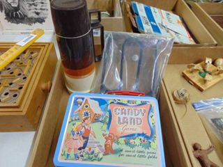 Candy land lunchbox   Thermos brand thermos and More