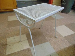 Small metal Side Table   Porch